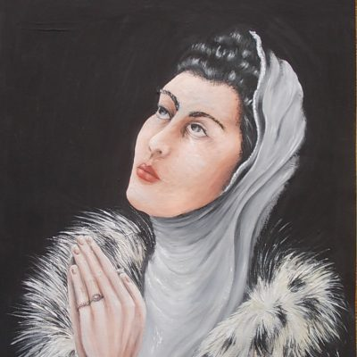 Modlitwa. Anna Krzyżanowska, absolwentka