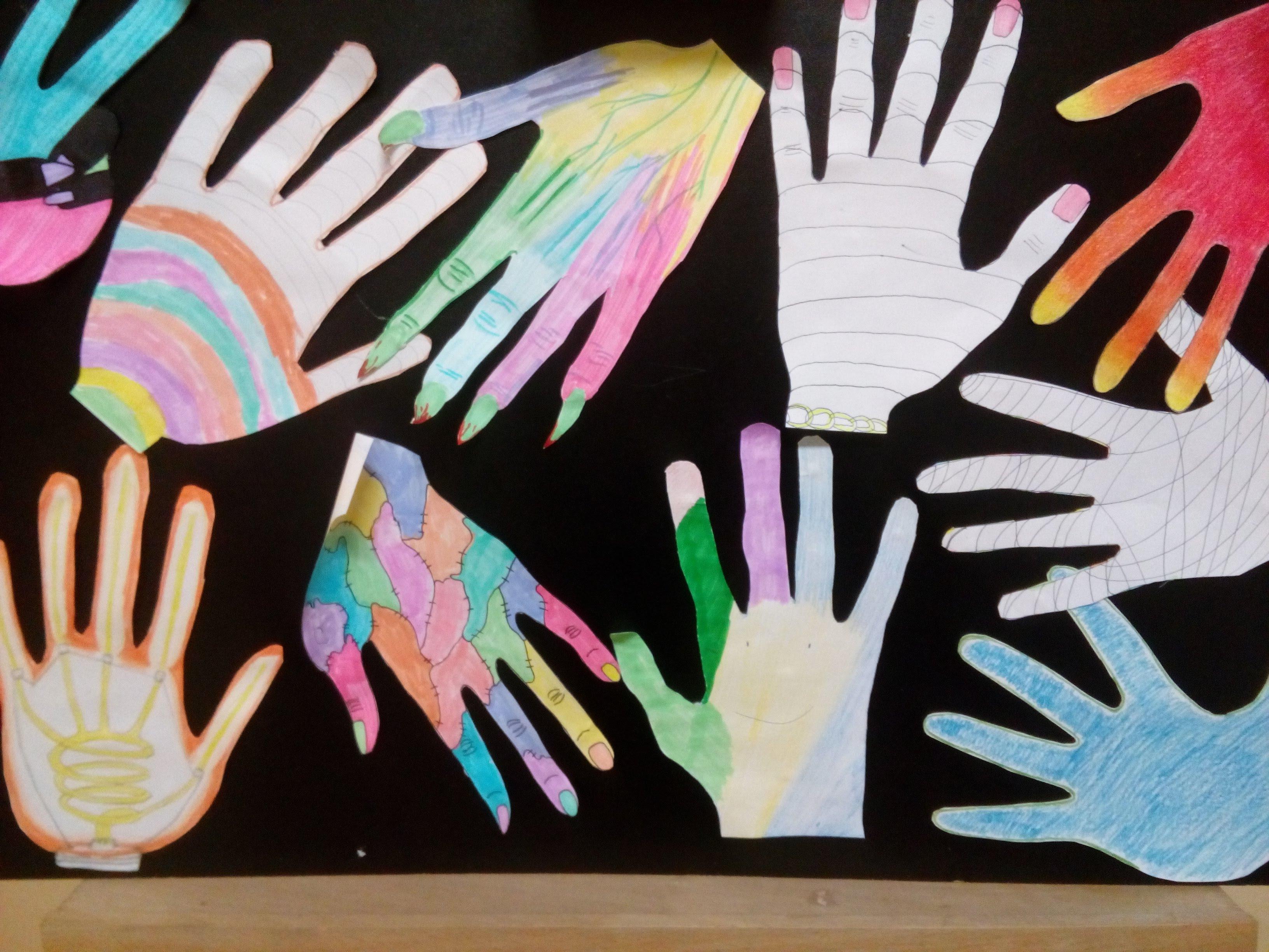 Projekt kl Dp, dłonie fowistyczne